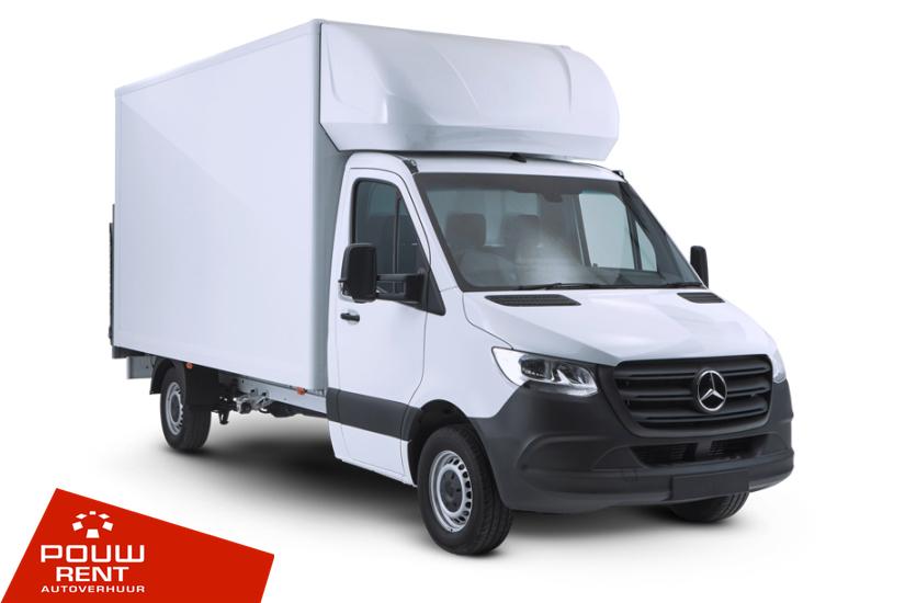 Pouw Rent Verhuiswagen met laadklep 18M³ laadruimte Categorie XL