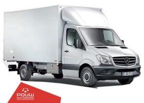 Meubelbak/verhuiswagen met laadklep