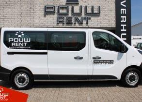 Ruime personenbus voor 9 personen met extra laadruimte