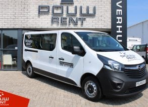 Pouw Rent Opel Vivaro Combi 1.6 CDTI L2H1
