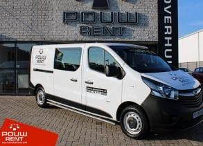 Pouw Rent Opel Vivaro 1.6 CDTI L2H1 Dubbel Cabine