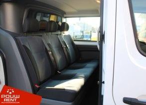Ruime dubbel cabine bus geschikt voor 6 personen met extra laadruimte