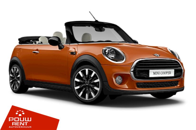 Pouw Rent Mini Cabriolet Cooper automaat Categorie C Mini