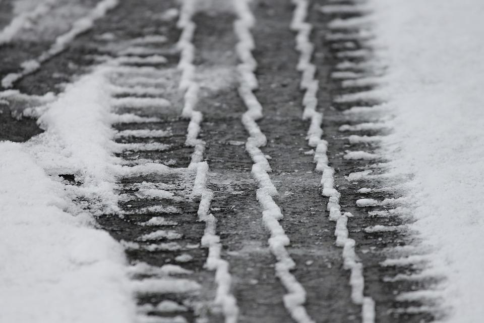 Tips voor rijden met sneeuw of ijzel